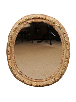 18th Century French Oval Mirror