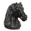 18th Century Iron Horse Head