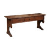 18th Century Italian Walnut Bench