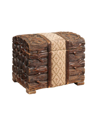 Blackforest Trunk with Grapevine Carving