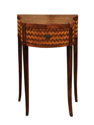 Italian Parquetry Inlaid Side Table