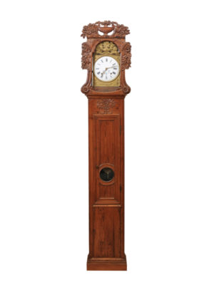 Normandy Pine Tall Case Clock