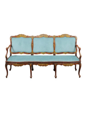Rococo Period Canape with Chinoiserie Decoration