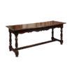 18th Century French Oak & Walnut Hall Table