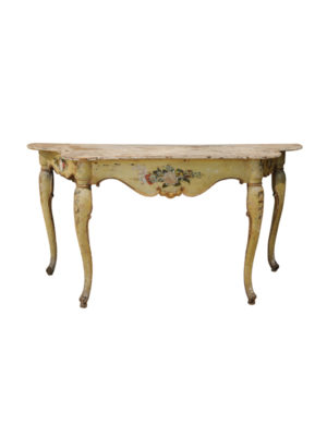 18th Century Italian Painted Console Table