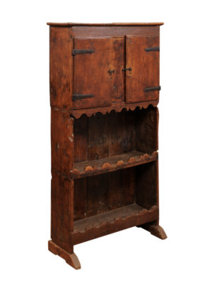 18th Century Spanish Pine Cupboard