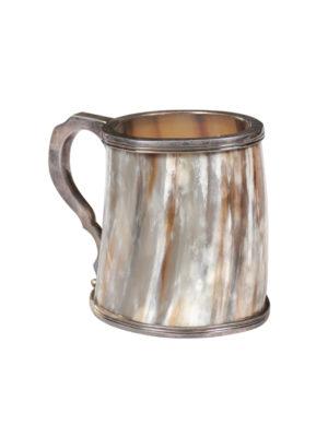 19th Century Continental Horn Mug