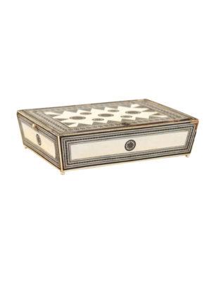 19th Century Inlaid Work Box