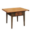 Green Painted Italian Rustic Center Table