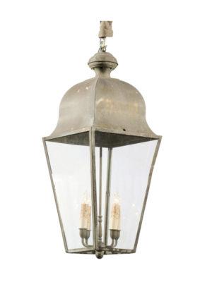 Large 4-Light Metal Lantern