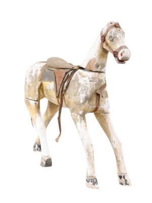 Mid-19th Century French Painted Horse