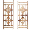 Pair 19th Century French Painted Iron Architectural Elements