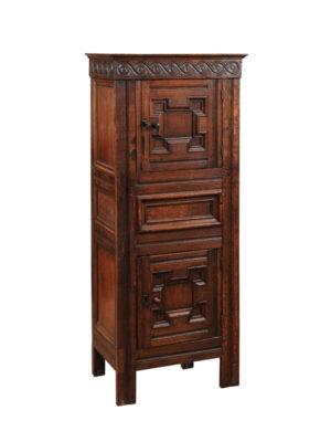 Petite Oak Cabinet