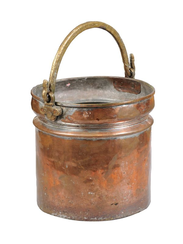 19th Century Copper & Brass Bucket