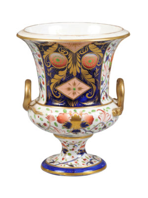 19th Century English Derby Porcelain Urn