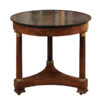 French Empire Gueridon with Black Marble Top