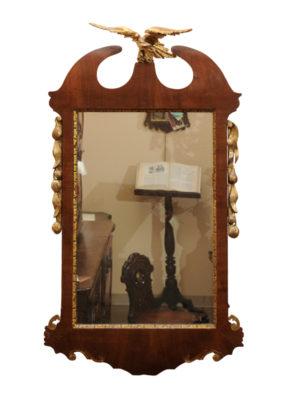 George III Mahogany Mirror