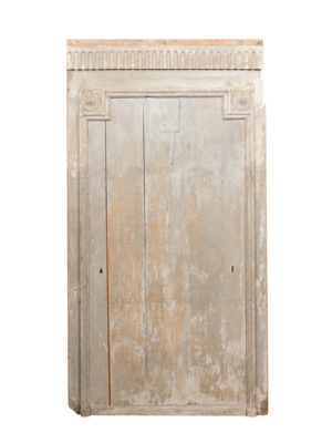 18th Century French Painted Architectural Panel