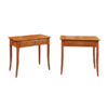 Pair 19th Century Biedermeier Side Tables