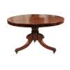 19th Century English Mahogany Center Table