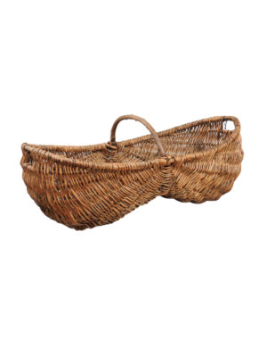 19th Century French Grape Basket