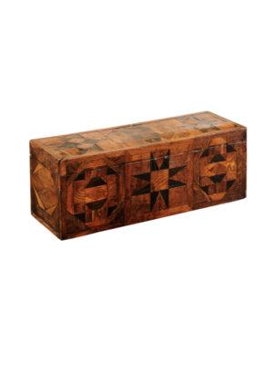 19th Century Parquetry Inlaid Box