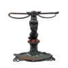Chase Brothers Iron Umbrella Stand with Dog