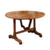 Late 19th Century French Walnut Wine Tasting Table