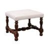 Louis XIII Style Oak Bench