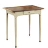 Louis XVI Green Painted Side Table