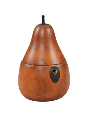 Pear Shaped Tea Caddy