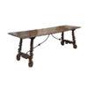 17th Century Italian Chestnut Hall Table