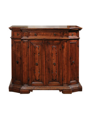 18th Century Baroque Walnut Credenza