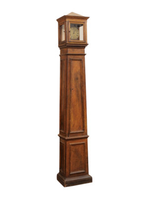 Baroque Painted Tallcase Clock