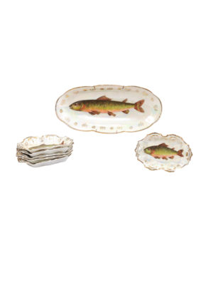 Caviar Fish Set, ca. 1890