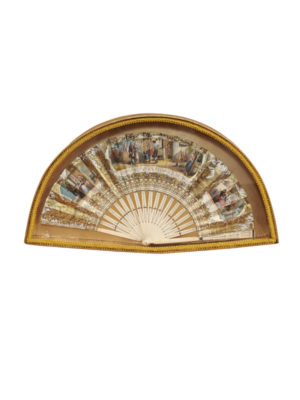Late 19th Centuy Handpainted Ladies Fan