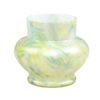 Pastel Art Glass Flower Vase