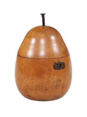 18th Century English Pear Shaped Tea Caddy