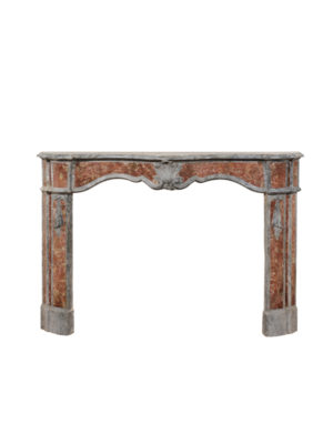18th Century Italian Marble Mantel with Shell