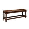 19th Century English Oak Bench