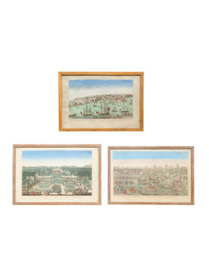 3 Early 19th Century Framed Engravings
