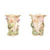 Pair 19th Century English Porcelain Tulip Vases