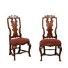 Pair Rococo Side Chairs
