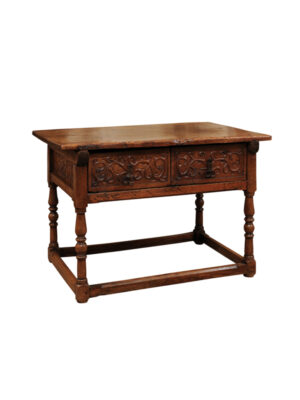 17th Century Spanish Walnut Table