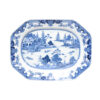 18th Century Chinese Export Blue & White Platter
