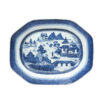 19th Century Chinese Export Blue & White Platter
