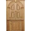 19th Century English Pine Corner Cabinet