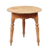 19th Century English Pine Cricket Table