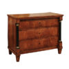19th Century French Empire Commode in Fruitwood
