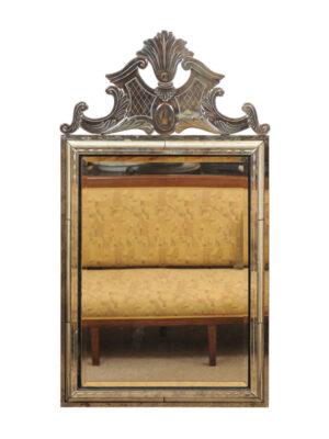 20th Century Venetian Style Cut Glass Mirror